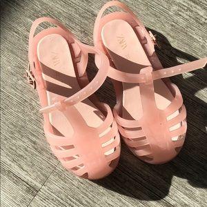 Zara toddler girl sandals